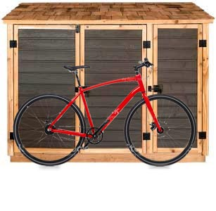Storage Sheds For Garbage Bins Recycling Bins And Green Bins